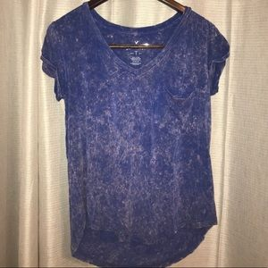 AMERICAN EAGLE SOFT DISTRESSED LOOSE TOP